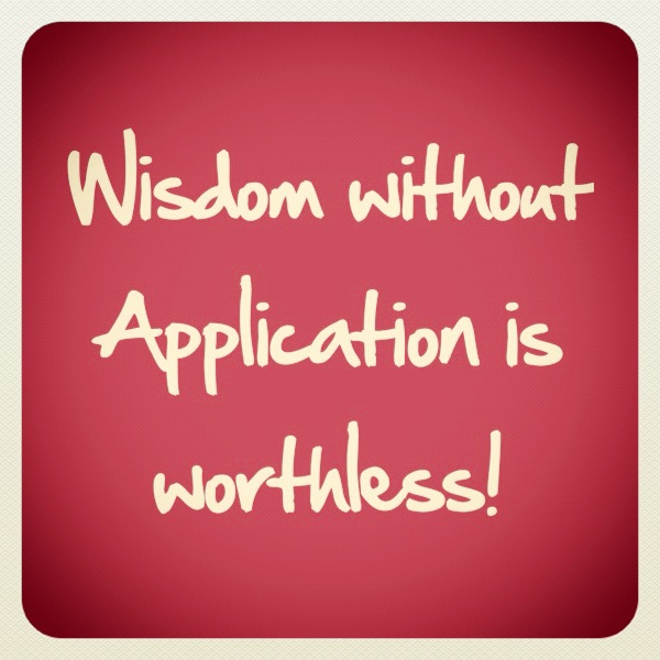 knowledge without application worthless 90 likes, 3 comments - marco hernandez (@marco_rku) on instagram: knowledge without application is worthless i, like many of you, enjoy the time studying, learning.