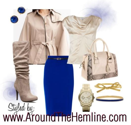 Winter Blues - Polyvore