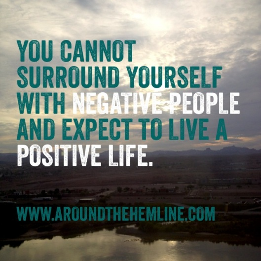 ATH Words to Live By: 09.03.13 - Positive People