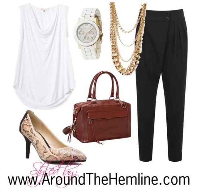 ATH: Polyvore Outfit Harem Pants